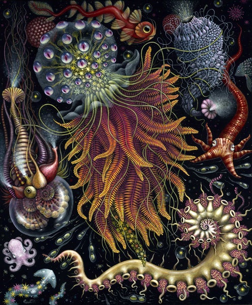 Image of HYDROZOA ~ LIMITED EDITION of 50 ~ Signed & Numbered ~ 20 x 24in