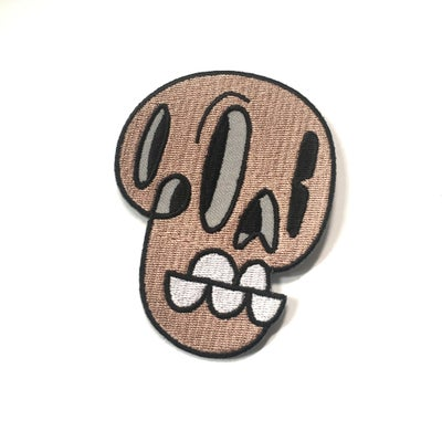 Image of 5 Tooth Skull Patch