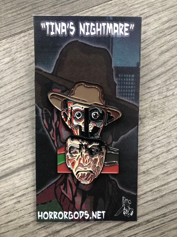 Image of TINA'S NIGHTMARE (SLIDIN') PIN #2