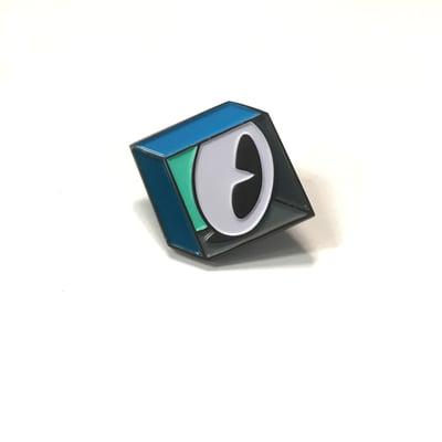 Image of Eye in Box Pin