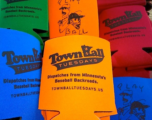 Image of Town Ball Tuesdays Cold One Koozie