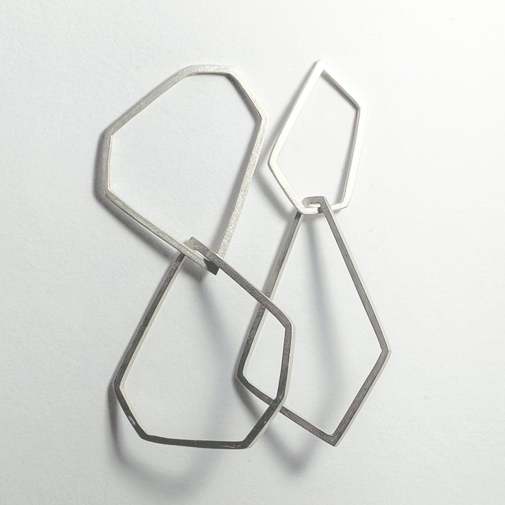 Image of geo earrings
