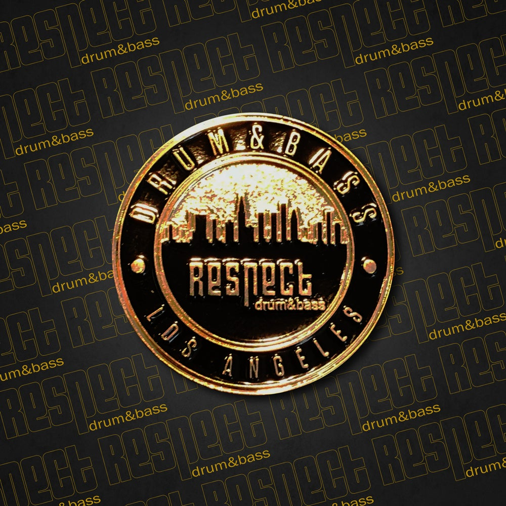 Image of Respect DNB Secret Society Pin