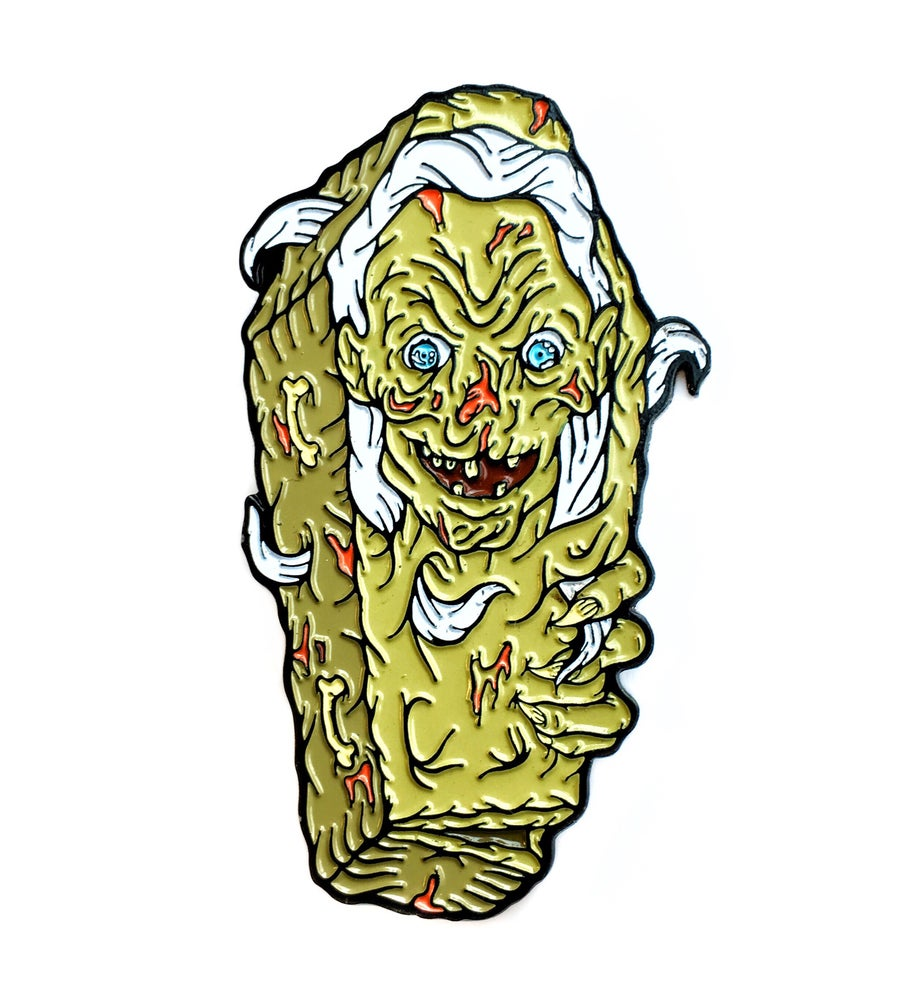 Image of Cryptkeeper Killer Coffin pin