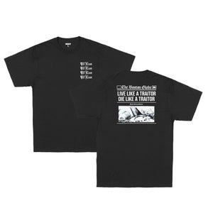 Image of 90East Globe Tee Black