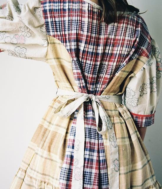 Image of Patchwork Ragdoll Dress #5
