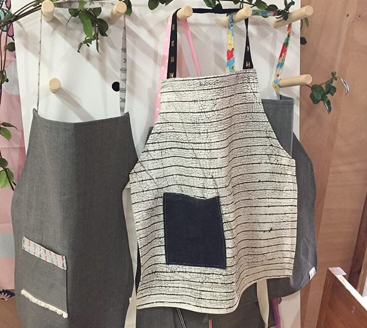 Image of Custom Made Adult Size Organic Cotton Aprons