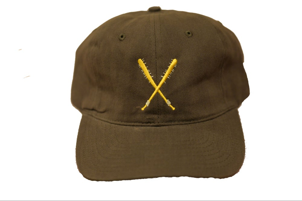 Image of GOLD Spiked Bat Hat