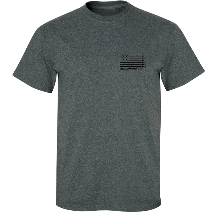 Image of US-747 Gaff Tee (black heather)