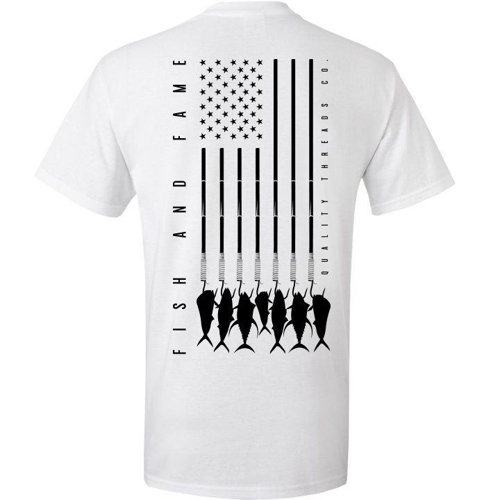 Image of US-747 Tee (white)