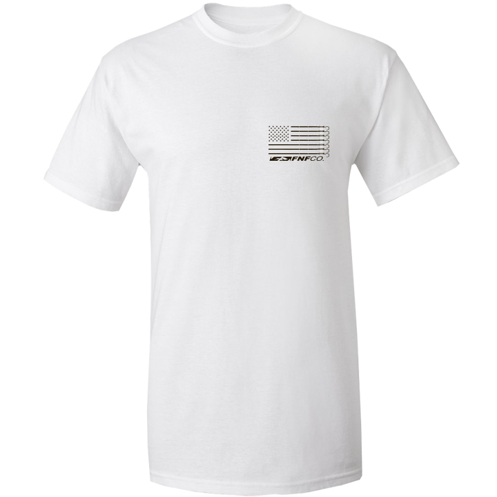 Image of US-747 Gaff Tee (white)