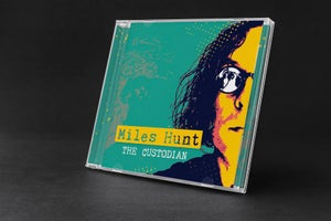 Image of The Custodian - Miles Hunt - Signed CD - Pre-Order