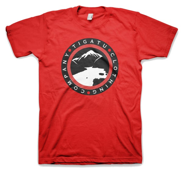 "Image of ""Diablo Banner"" Men's Tee Red"