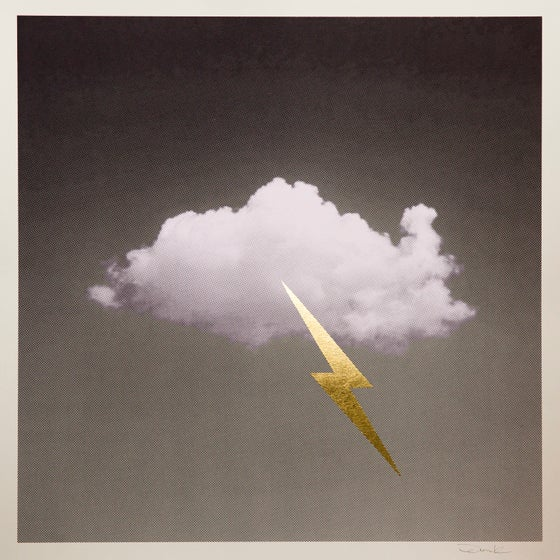 Image of 'Little Fucking Cloud' (Gold)