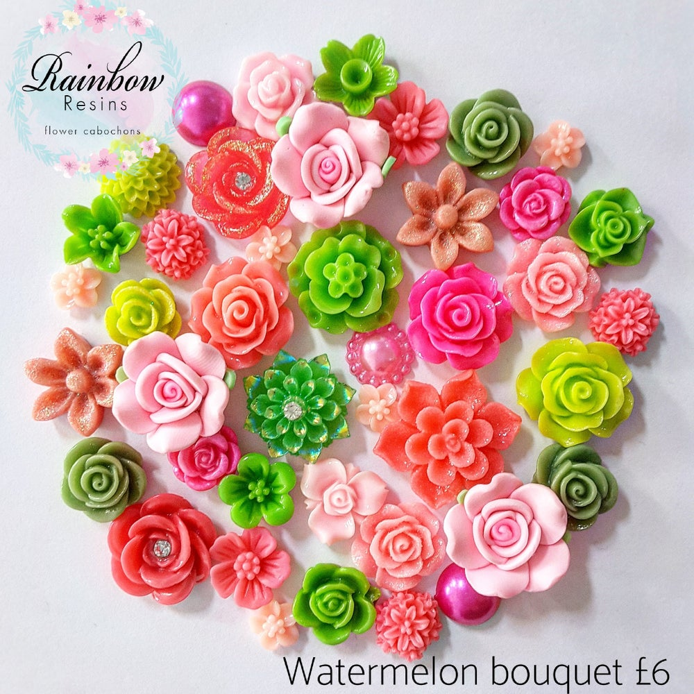 Image of Watermelon bouquet