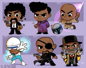 Image of Evolution of Samuel L. Jackson