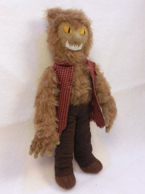 Image of Wolfman, werewolf plush toy