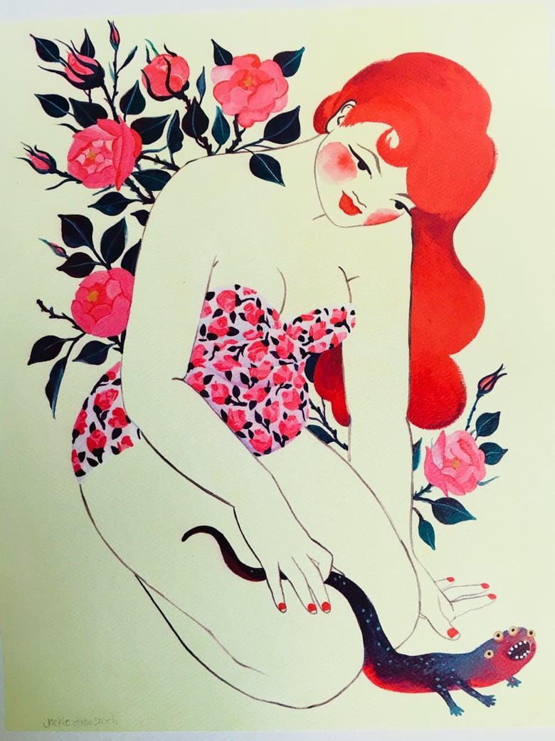 Image of Rosebud Giclée