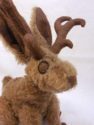 Image of Jackalope plush