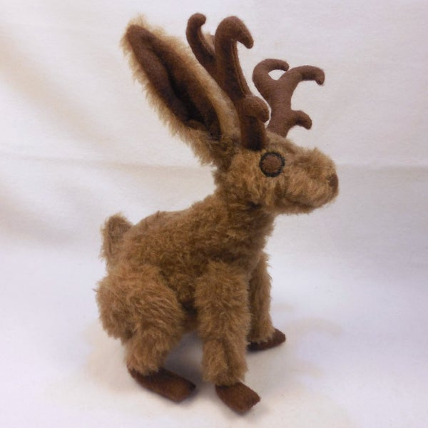 Image of Jackalope plush