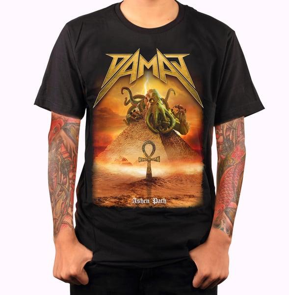 Image of Damaj - Ashen Path - Full Art Shirt