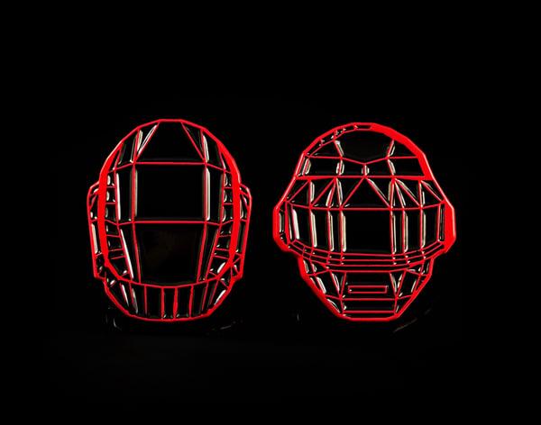 Image of Polygon Encore Helmets (VQD x Pinupper - Special Collaboration Release)