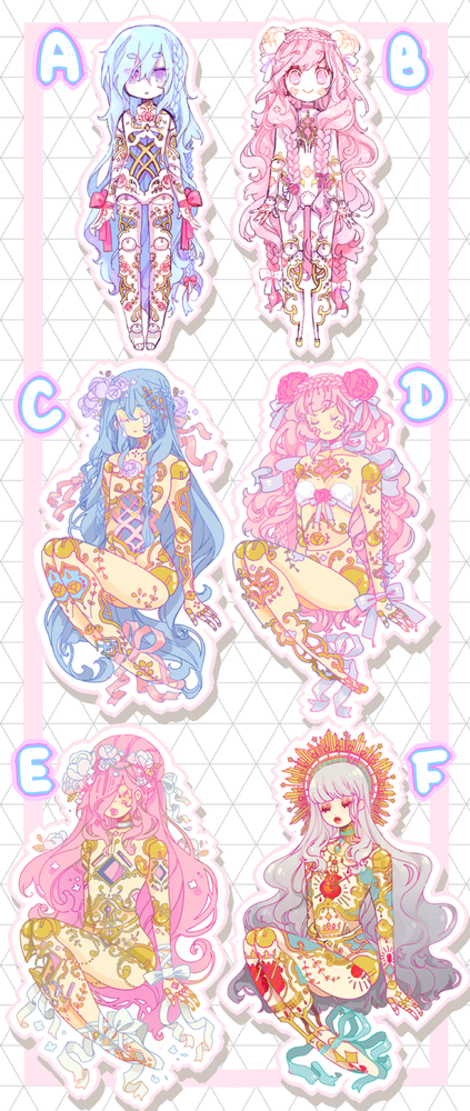 Image of Balljointed Doll Stickers