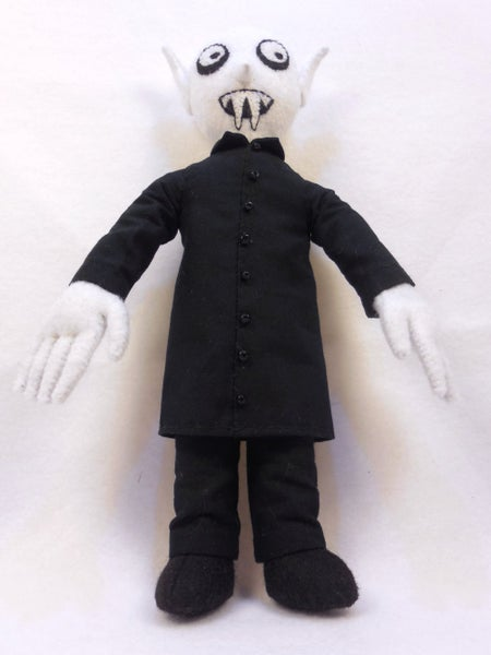 Image of Nosferatu plush toy