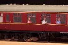 Image of CP1 Coach Passengers - 8 resin half figures