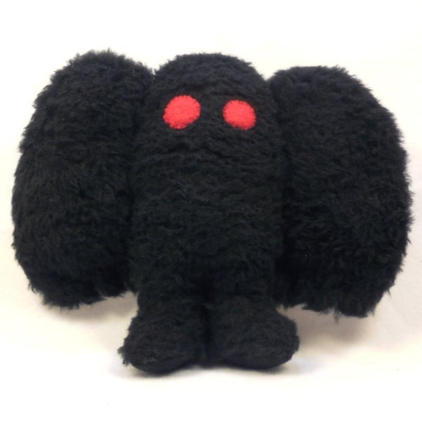 Image of Mothman plush toy