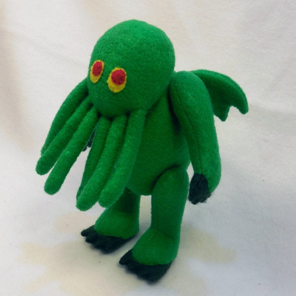 Image of Cthulhu plush toy