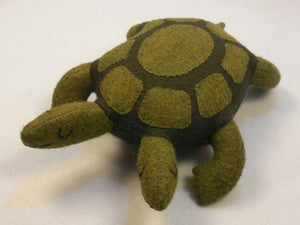 Image of Two-headed turtle plush toy