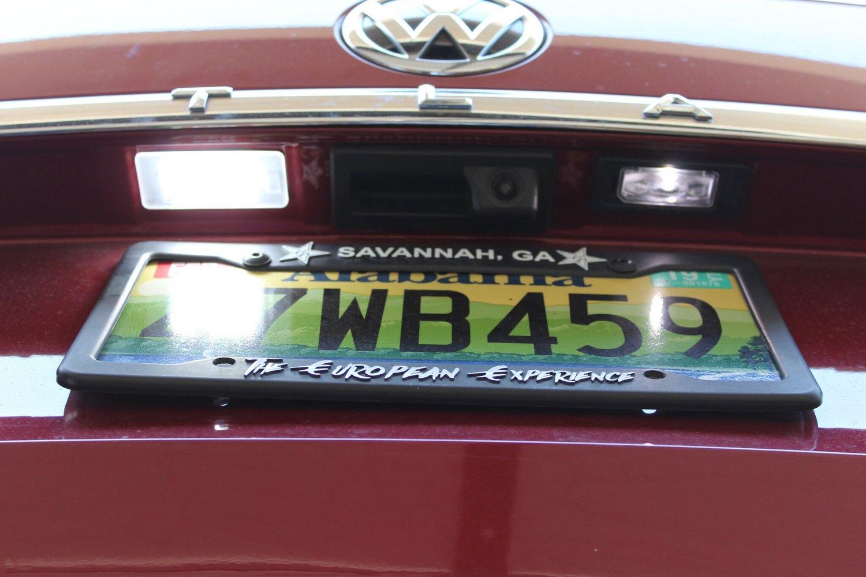 Image of License Plate LED Complete Housing Fits: MKVII 2015+ Volkswagen Sportwagen (GSW) / VW Atlas
