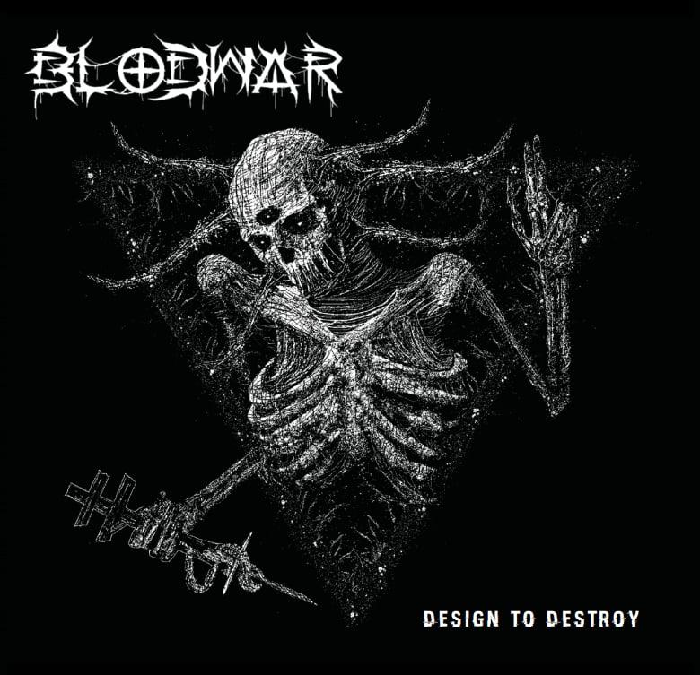 """Image of Blodwar """"Design to Destroy"""" Pre-Order"""