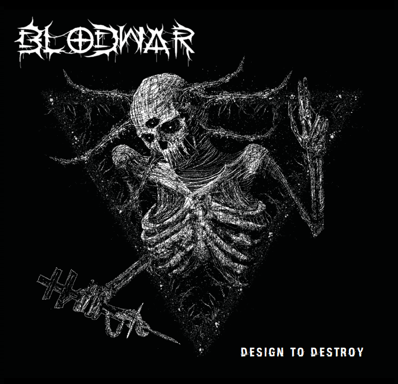 "Image of Blodwar ""Design to Destroy"" Pre-Order"