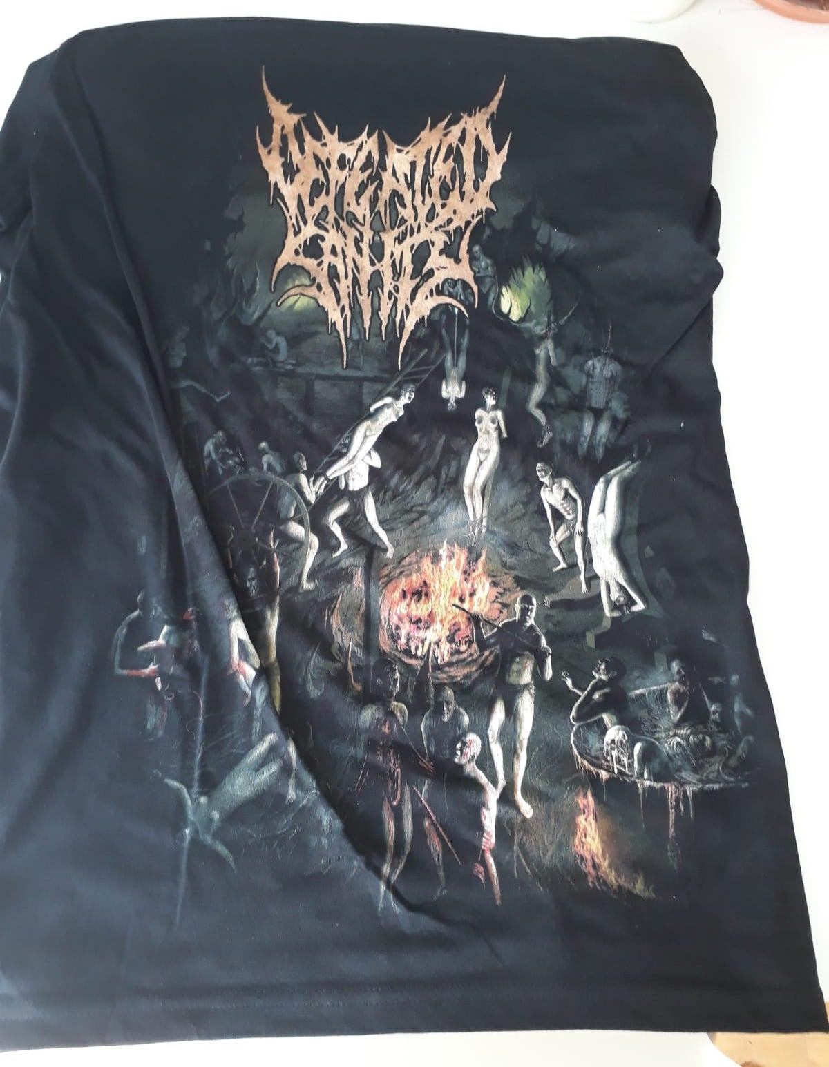 "Image of T-Shirt ""Chapters of Repugnance"""