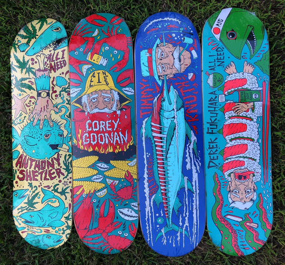 Image of Seafood Vengence Skateboards