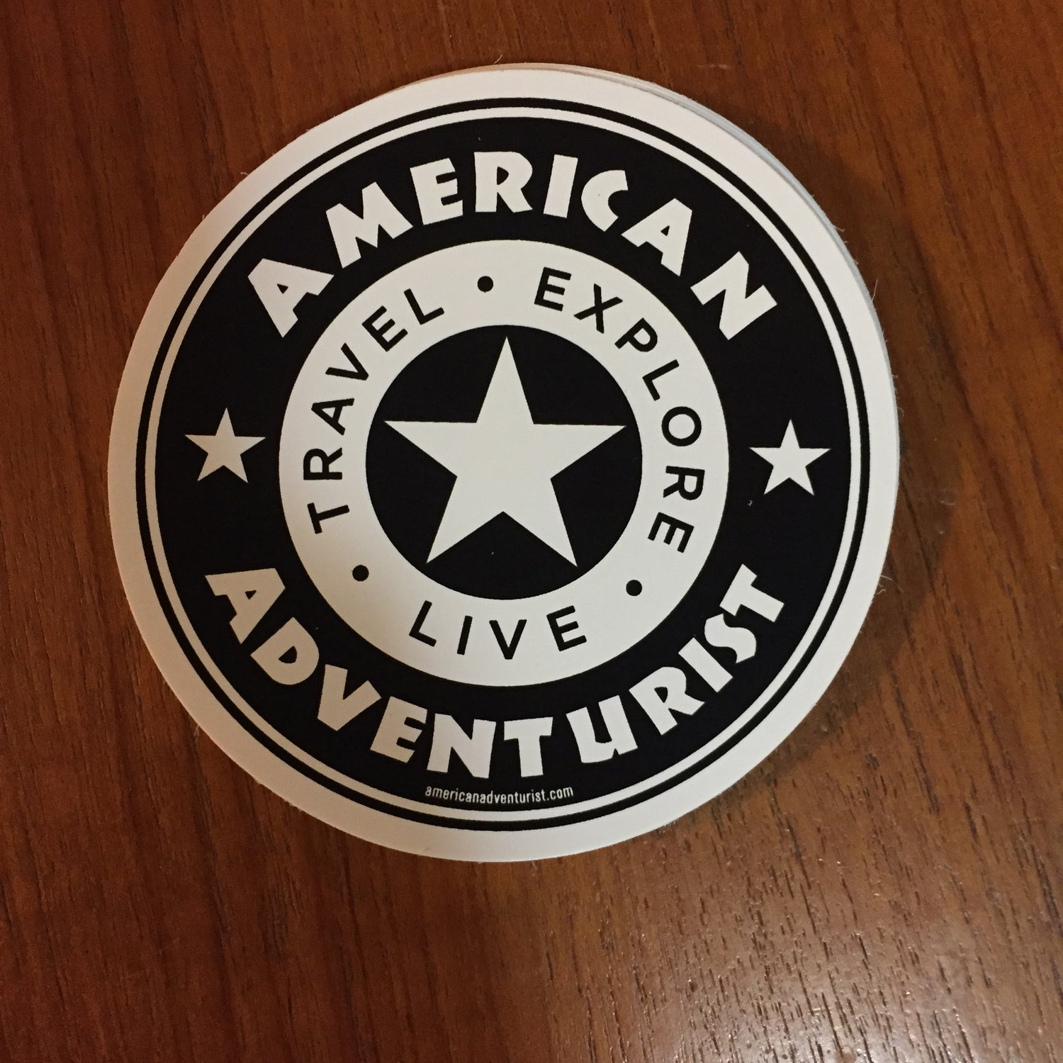 Image of American Adventurist 4 Inch Decal