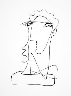 Image of Large Portrait IX