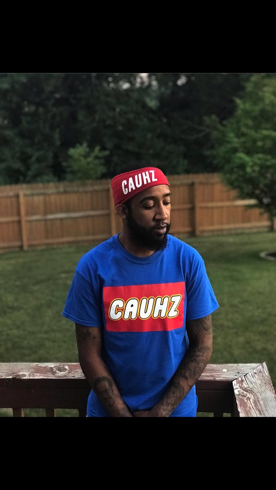 Image of Cauhzego Royal Blue Tee