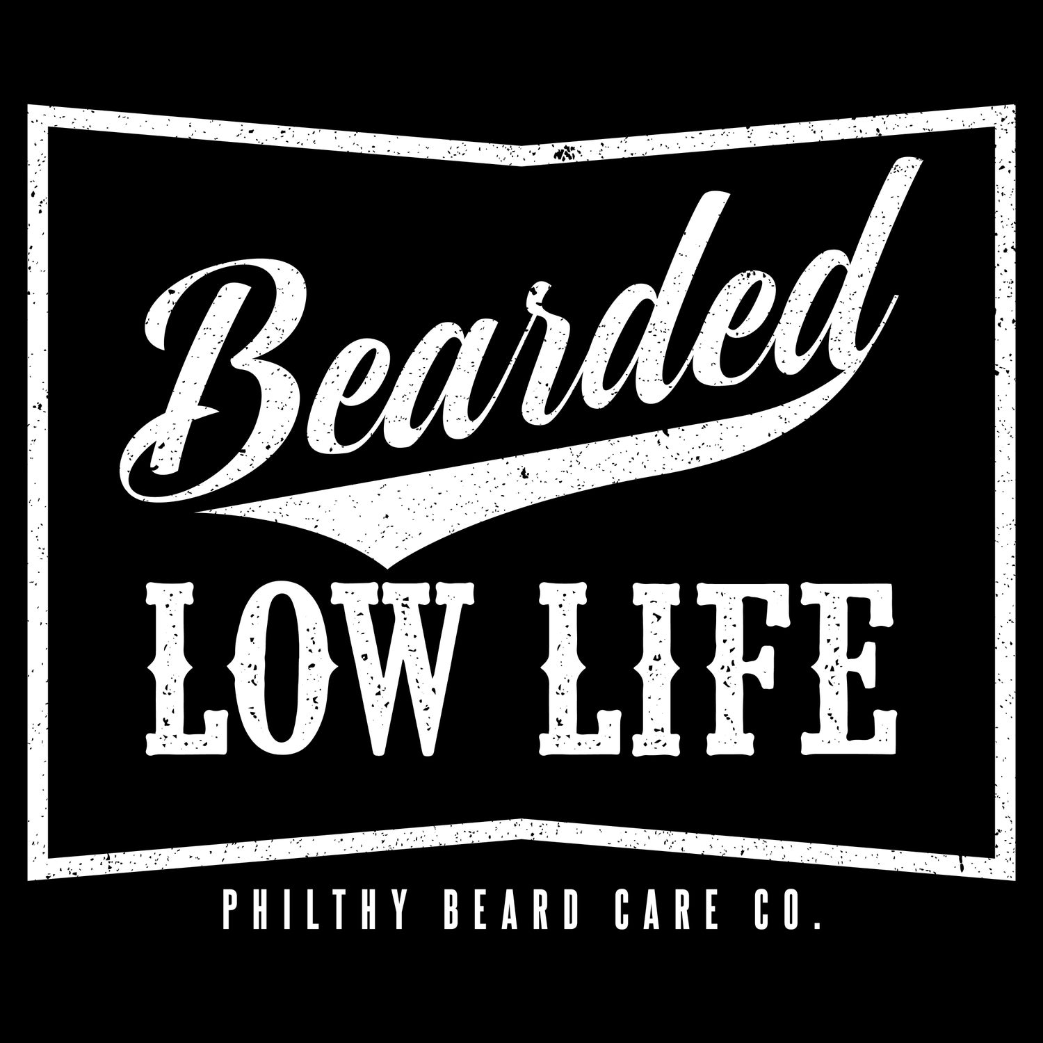 Image of Men's Bearded Low Life (Black)