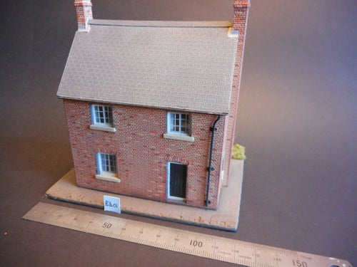 Image of BD 01 4mm scale Cottage building