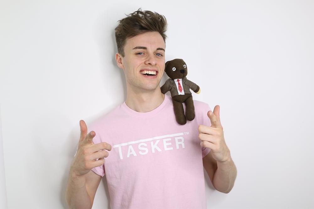 Image of Pink 'TASKER' Tee