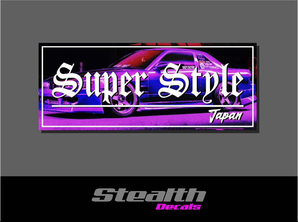 Image of Super Style Drift Slap sticker