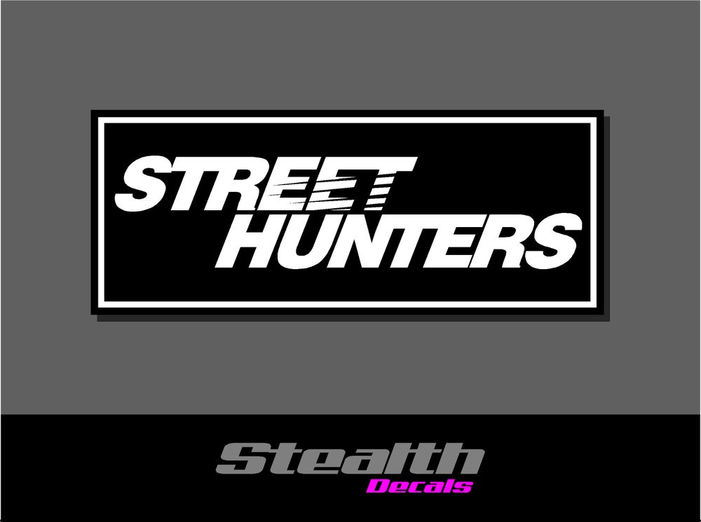 Image of Street Hunters Drift Slap sticker