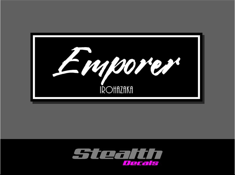 Image of Emporer Drift Slap sticker Initial D