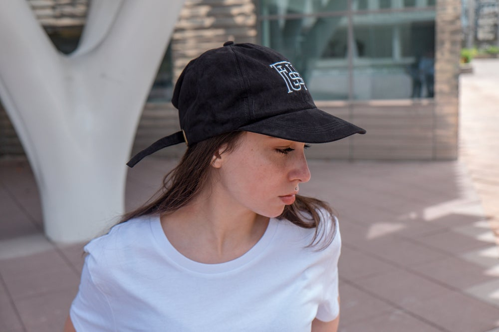 Image of Baseball cap - Plusieurs coloris disponibles - Pink Suede - Black - Light Grey - Velvet Blue