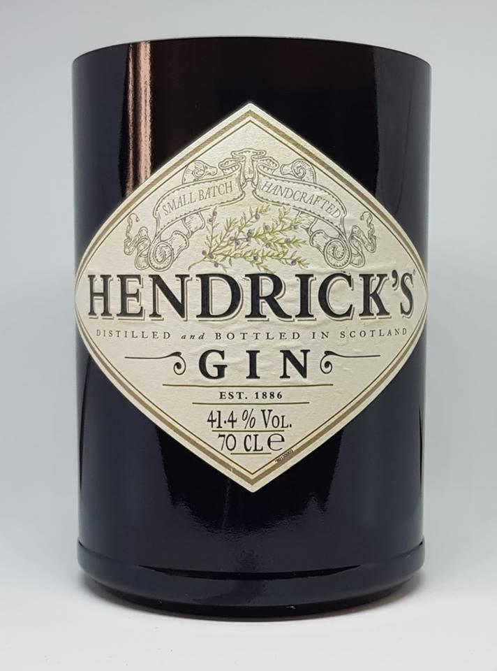 Image of Hendricks Gin Bottle Candle