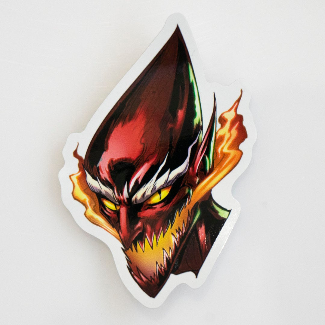 Image of Red Goblin Sticker
