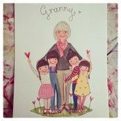 Image of Family Portrait Painting